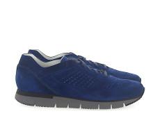 Sneaker low 20754 Veloursleder Lochmuster
