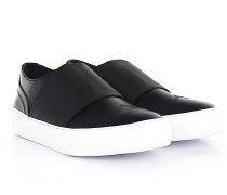 Sneaker Slip On ADAM Leder Stretchband