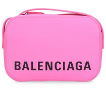 Handtasche VILLE CAM BAG XS Kalbsleder Prägung logo
