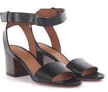 Sandalen 6 Paris Knöchelriemchen Glattleder