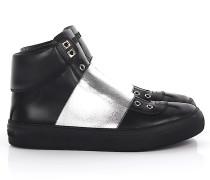Sneaker high Kalbsleder