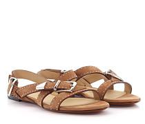 Sandalen Riemchen CH26160 Nubukleder Nieten