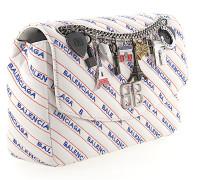 Handtasche Schultertasche BB ROUND M Kalbsleder Logo