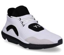 Sneaker high SAIKOU Neopren Logo Streifen beige