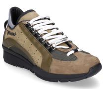 Sneaker low 551 Nubukleder Lochmuster khaki olive