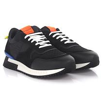 Sneaker Runner Active Leder Veloursleder Nylon