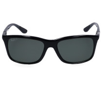 Sonnenbrille Wayfarer 8352 Acetat schwarz