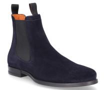 Chelsea Boots 14552 Veloursleder Lochmuster