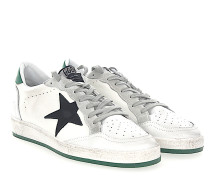 Sneaker BALL STAR Leder weiss Star-Patch Leder