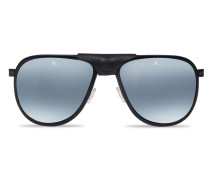 Polarisierende Sonnenbrille GLACIER XL Stahl Acetat