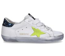 Sneaker low SUPERSTAR Kalbsleder -kombi