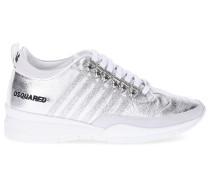 Sneaker low 251 Veloursleder Glitzer