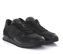 Sneakers MOR361 Veloursleder Glattleder