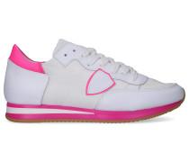 Sneaker low TROPEZ Kalbsleder Textil Veloursleder