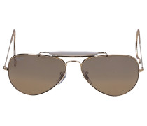 Sonnenbrille Aviator 3029 181 Metall gold