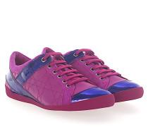 Sneaker SPRINT Leder Veloursleder pink Lackleder lila