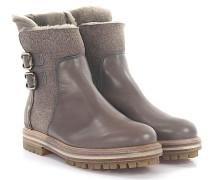 Stiefeletten Boots D717515 Leder Lammfell