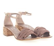 Sandalen D631052 Satin bronze Leder metallic