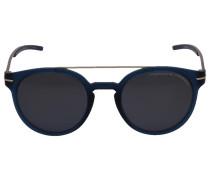 Sonnenbrille Wayfarer 8644 Acetat Metall blau
