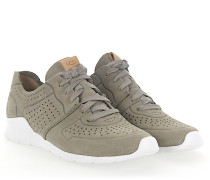 Sneaker TYE Nubukleder Lochmuster