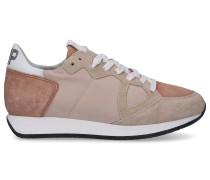 Sneaker low MONACO Kalbsleder Textil Veloursleder