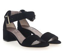 Sandalen D631010 Veloursleder