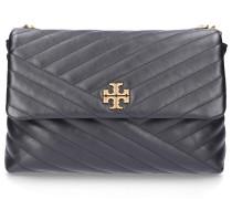 Handtasche KIRA SHOULDER BAG Kalbsleder Logo