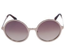 Sonnenbrille Round 572 28G Metall gold