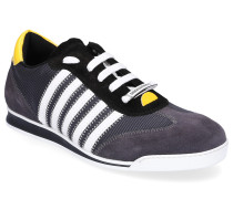 Sneaker low NEW RUNNER Hightech-Jersey Kalbsvelours