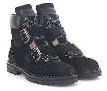 Boots BREEZE FLAT Samt Nietenverziehrung