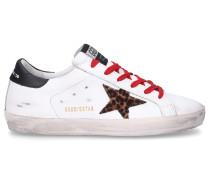 Sneaker low SUPERSTAR Kalbsleder Used