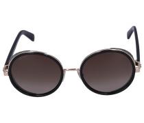 Sonnenbrille Round ANDIE Acetat schwarz