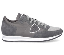 Sneaker TROPEZ Textil Veloursleder Logo Patch