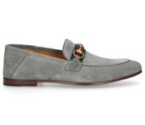Loafer 1M620 Veloursleder Horsebit-Detail