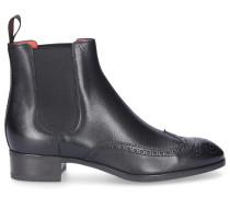 Chelsea Boots 55133 Kalbsleder Lochmuster