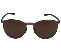 Sonnenbrille Oval 8660 Acetat gold
