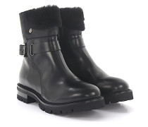 Stiefeletten Boots Leder Fell