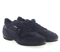 Sneaker 20523 AMG Lammfell Mesh Veloursleder dunkel