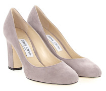 Pumps BILLIE 85 Veloursleder taupe