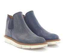 Stiefeletten Boots 498 Leder Lochmuster