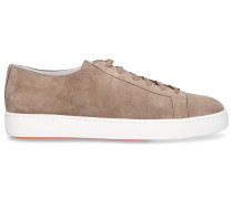 Sneaker low 14387 Veloursleder hellbraun