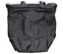 Handtasche TEDDY Lammleder Logo