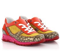 Running Sneaker Velourleder Leder