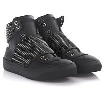Sneaker High Slip On Archie Leder Lackleder Nieten