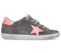 Sneaker low 590 SUPERSTAR Kalbsleder Logo Used