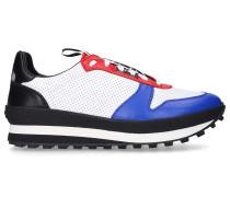 Sneaker low TR3 RUNNER Kalbsleder Lochmuster blau