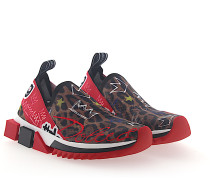 Sneaker Slip-On SORRENTO Graffiti-Print Stretch