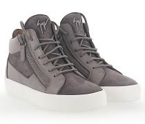 Sneaker MAY Mid Top Leder Veloursleder