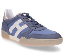 Sneaker low SPORTY Kalbsleder Kalbsvelours Logo