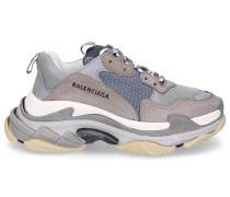 Sneaker low TRIPLE S Mesh Nubukleder Logo Used hell